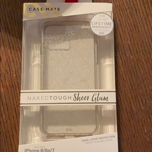 Case mate 2 piece protection IPhone 7 case